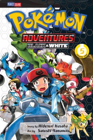 Pokémon Adventures: Black & White Vol. 5