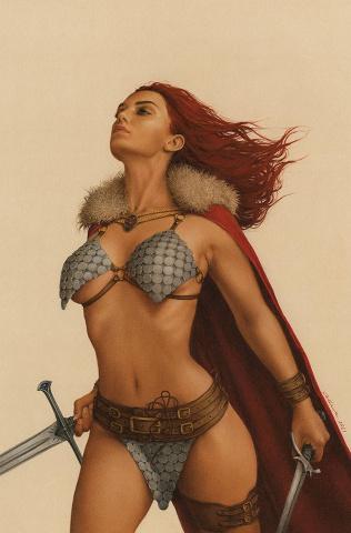 The Invincible Red Sonja #5 (Celina Virgin Cover)