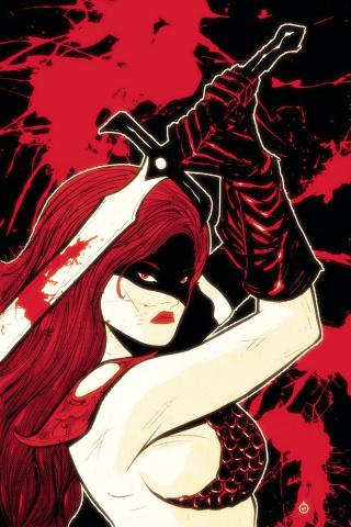 Red Sonja #12 (20 Copy Doe Virgin Cover)