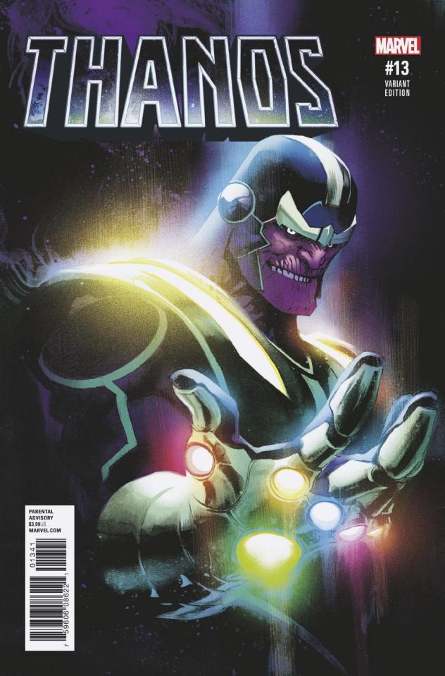 Thanos #13 (Albuquerque Cover)