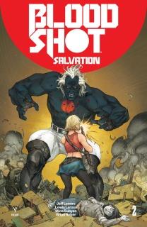 Bloodshot: Salvation #2 (Rocafort Cover)