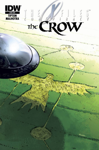 The X-Files: Conspiracy / The Crow #1 (Subscription Cover)