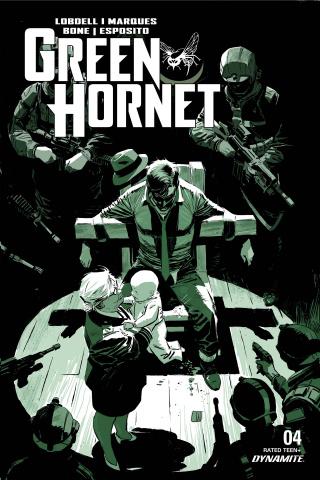 Green Hornet #4 (Weeks Cover)