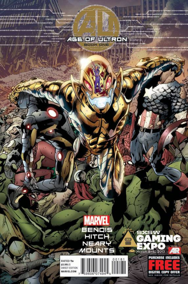 Age of Ultron #1 (Foil Cover)