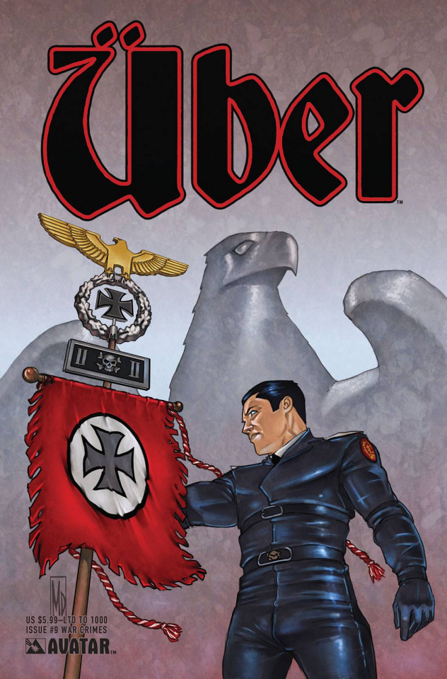 Über #9 (War Crimes Cover)