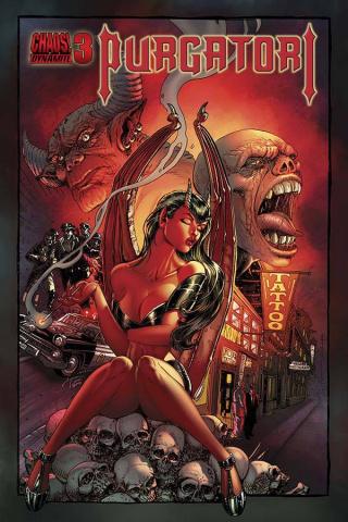 Purgatori #3 (Chin Cover)