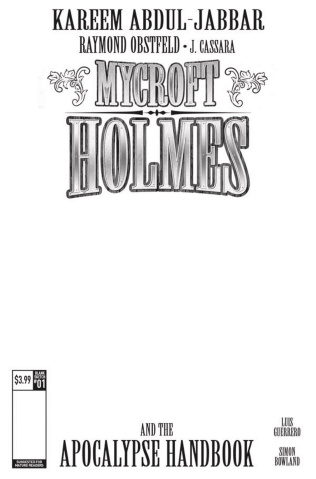 Mycroft Holmes #1 (Blank Sketch Cover)