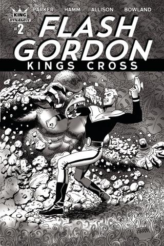 Flash Gordon: Kings Cross #2 (10 Copy Hamm Cover)