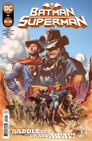 Batman / Superman #19 (Ivan Reis Cover)