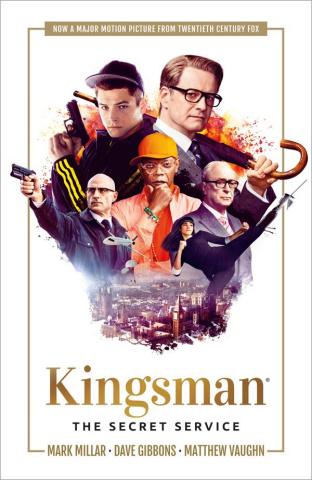 Kingsman: The Secret Service (Movie Cover)