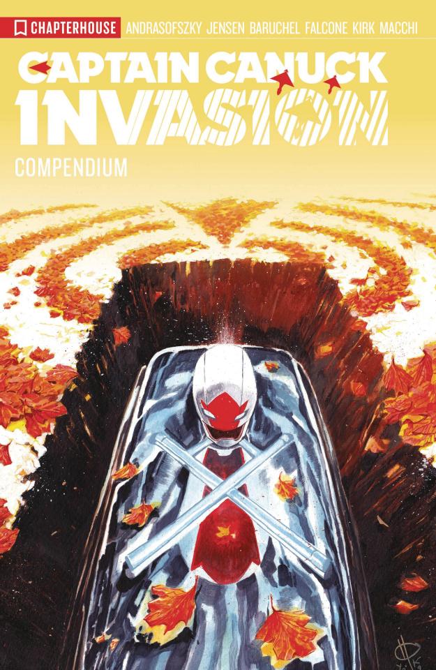 Captain Canuck: Invasion (Compendium)