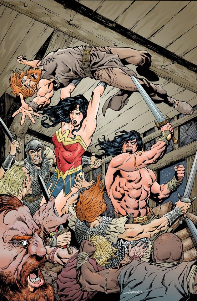 Wonder Woman / Conan #4 (Variant Cover)
