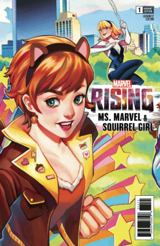 Marvel Rising: Ms. Marvel & Squirrel Girl #1 (Connecting Cover)