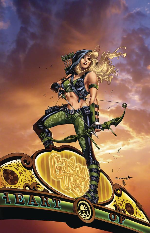Robyn Hood: The Curse #4 (Davila Cover)