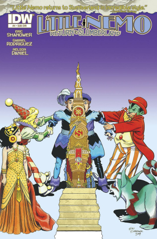 Little Nemo: Return to Slumberland #4 (Subscription Cover)