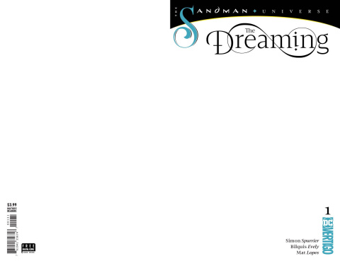 The Dreaming #1 (Blank Cover)