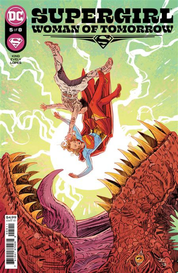 Supergirl: Woman of Tomorrow #5 (Bilquis Evely Cover)