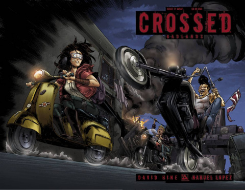 Crossed: Badlands #71 (Wrap Cover)