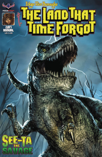 The Land That Time Forgot 2017 Annual (Scalf Cover)