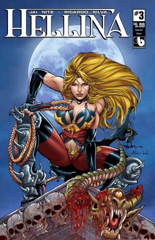 Hellina #3 (Enforcer Cover)