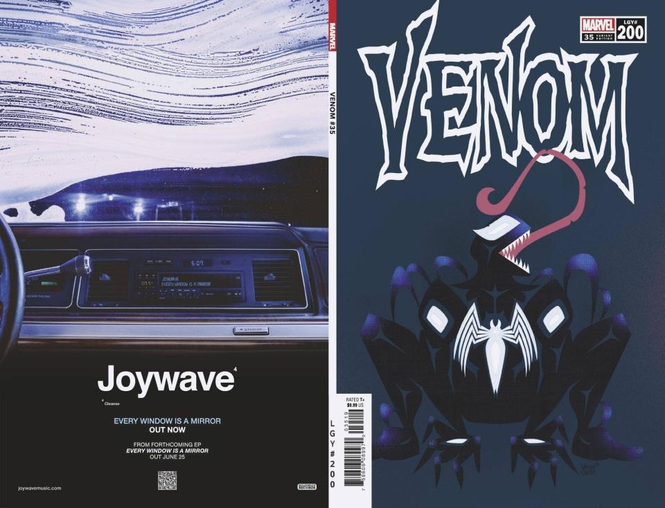 Venom #35 (Veregge 200th Issue Cover)