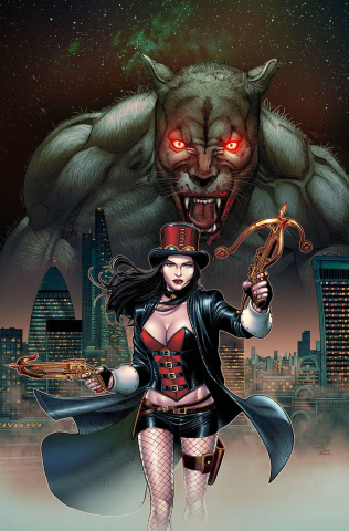 Van Helsing: The Beast of Exmoor (Chen Cover)
