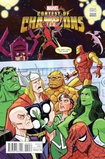 Contest of Champions #4 (Rubio Deadpool Cover)