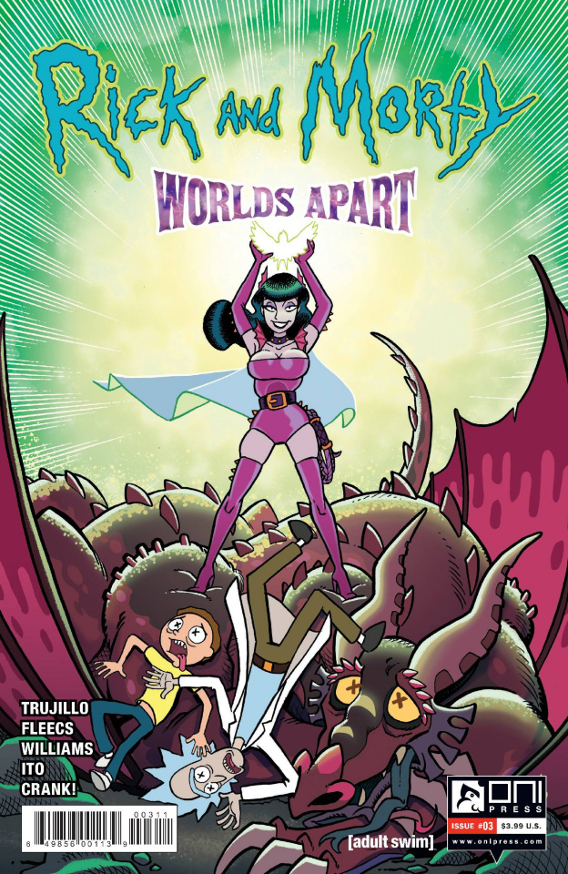 Rick and Morty: Worlds Apart #3 (Fleecs Cover)