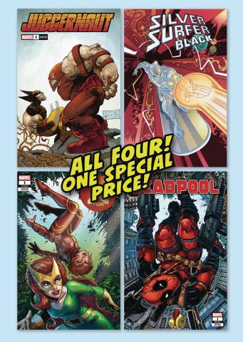Clover Press Marvel Variant Cover Pack