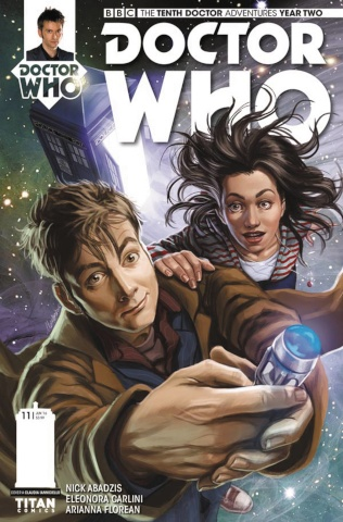 Doctor Who: New Adventures with the Tenth Doctor, Year Two #11 (Ianniciello Cover)