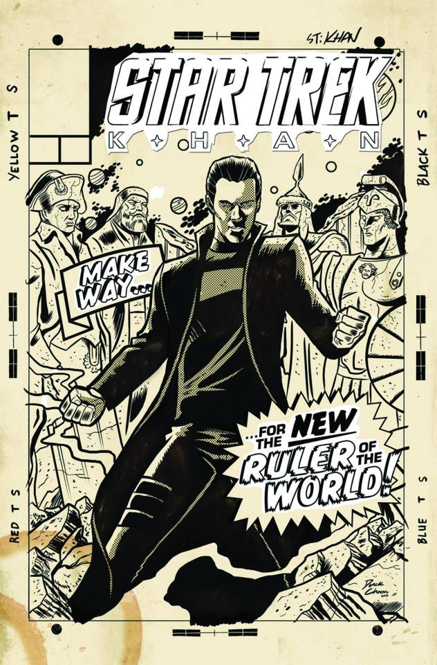 Star Trek: Khan #2 (Subscription Cover)