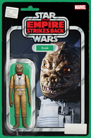 Star Wars: War of the Bounty Hunters #2 (Action Figure Cover)