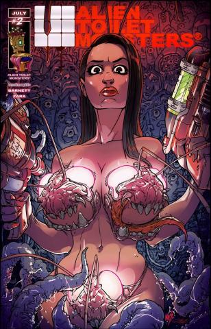 Alien Toilet Monsters #2 (Cover B)