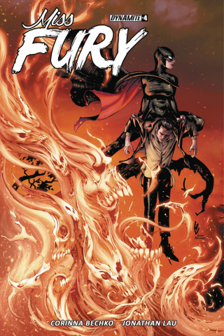 Miss Fury #4 (Lau Cover)