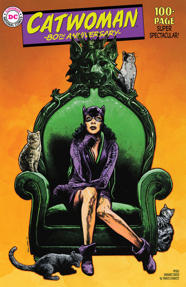 Catwoman 80th Anniversary 100 Page Super Spectacular #1 (1950s Travis Cover)