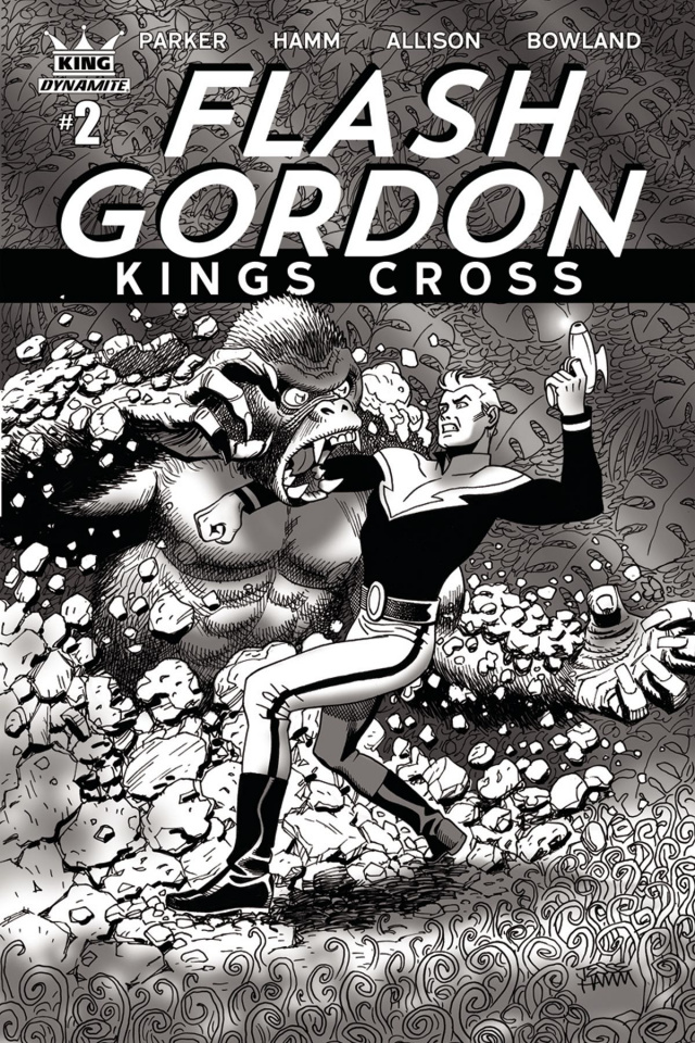 Flash Gordon: Kings Cross #2 (10 Copy Hamm Cover)