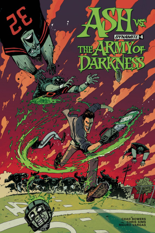 Ash vs. The Army of Darkness #4 (Vargas Cover)