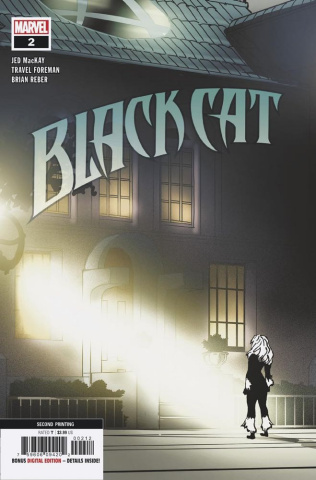 Black Cat #2 (Foreman 2nd Printing)