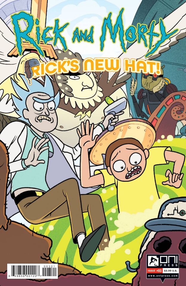 Rick and Morty: Rick's New Hat! #3 (Stern Cover)