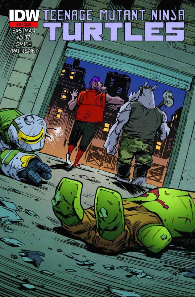 Teenage Mutant Ninja Turtles #44 (3rd Printing)