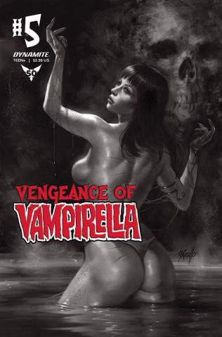 Vengeance of Vampirella #5 (11 Copy Parrillo B&W Cover)
