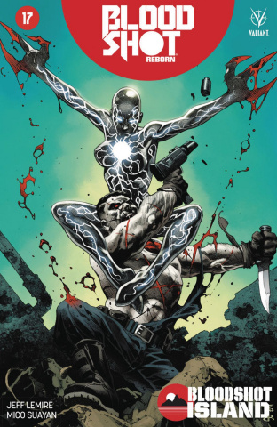 Bloodshot: Reborn #17 (Giorello Cover)