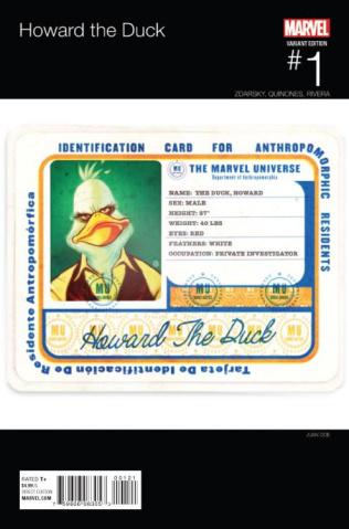 Howard the Duck #1 (Doe Hip Hop Cover)