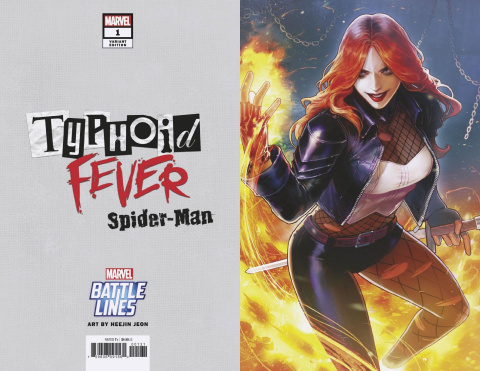 Typhoid Fever: Spider-Man #1 (Sujin Jo Marvel Battle Lines Cover)