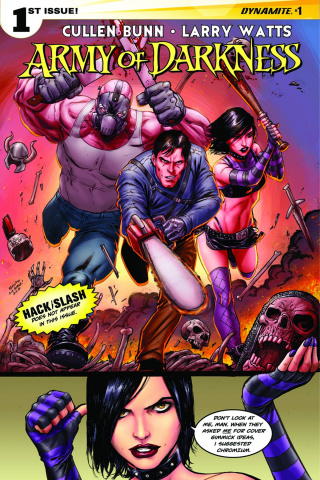 Army of Darkness #1 (Seeley Cover)