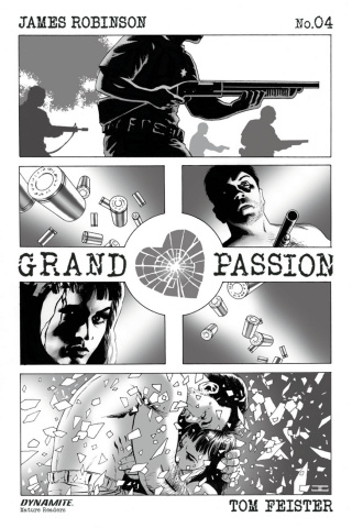 Grand Passion #4 (10 Copy B&W Cover)