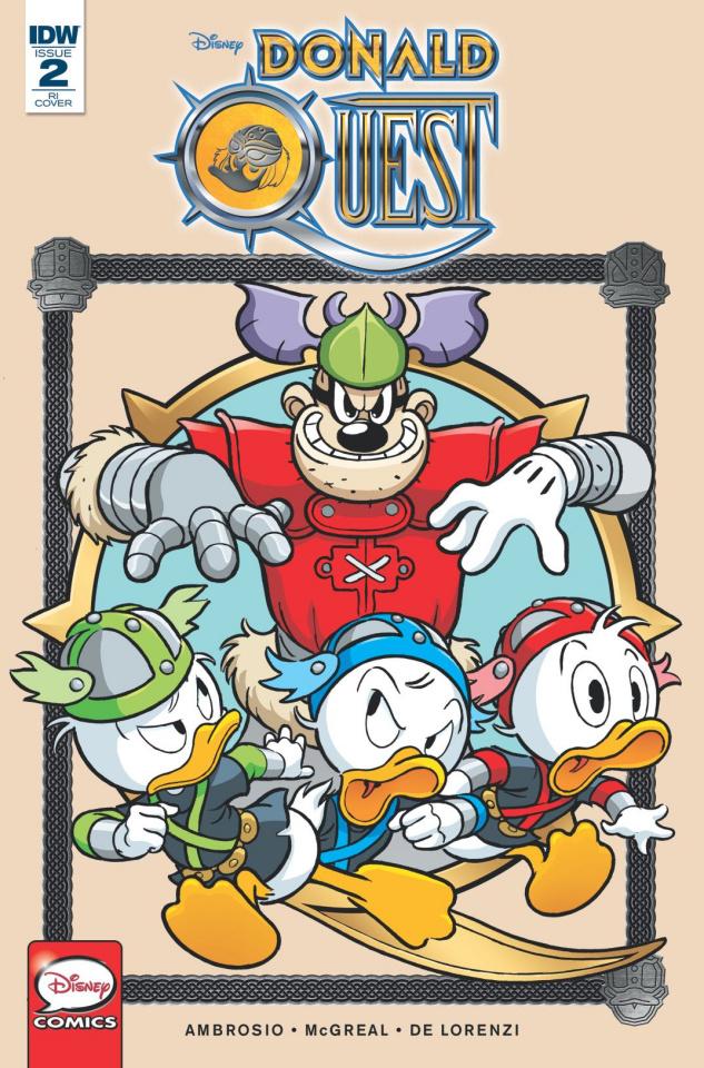Donald Quest #2 (10 Copy Cover)