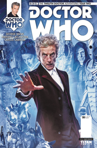Doctor Who: New Adventures with the Twelfth Doctor, Year Two #8 (Photo Cover)