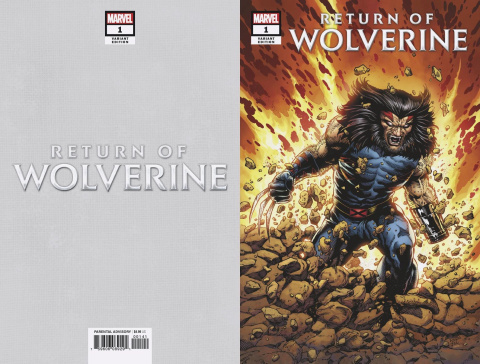 Return of Wolverine #1 (McNiven Age Apocalypse Costume Cover)