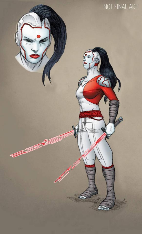 Rai #14 (10 Copy Character Design Guinaldo Cover)